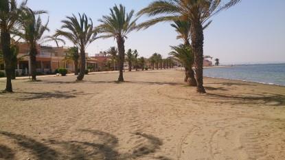 Strand von Los Urrutias an der Costa Calida, Südspanien