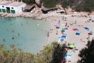 Ein Strand von Mallorca