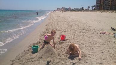 an der Costa Calida in Süd-Spanien