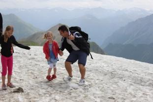 2700 m hoch, Paznaun-Ischgl in Tirol, Österreich