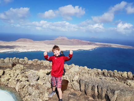Blick auf die Insel La Graciosa